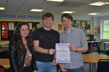 Aimee, Daniel and Jack who helped an enormous amount, donating some really lovely cakes