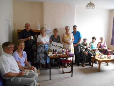 Oundle raised £100 from coffee morning