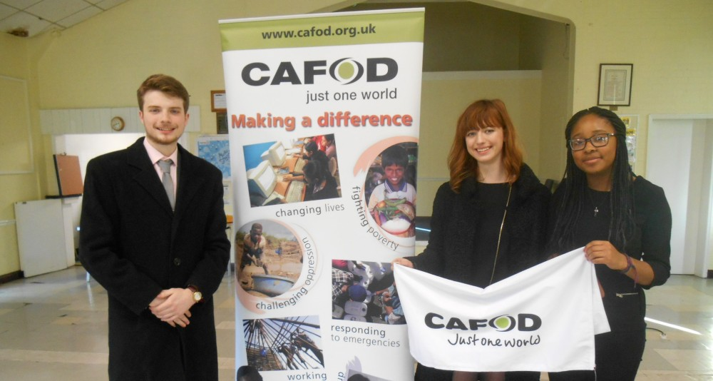 Jack Emsley at the CAFOD Northampton Supporters Day