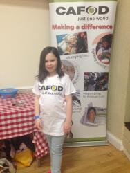 Eden planning on being the youth CAFOD contact