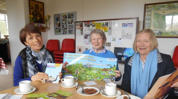 OLPS Chesham Bois CAFOD group; Monica, Beryl and Ann