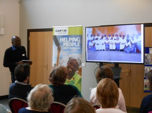 Fr Henry share his experience of a CAOD project