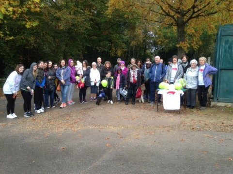 Sponsored Walk - Holy Redeemer Slough