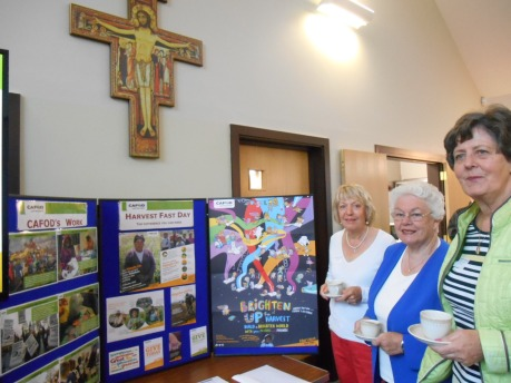 Eileen, Margaret and Rosaline - Parish volunteers from Holy Redeemer Slough