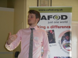 Jack gives talk at Supporters' day