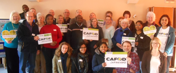 —CAFOD supporters and volunteers from across the Diocese of Northampton gathered at St. Martin de Porres church in Luton, on Saturday 4 February for a CAFOD Supporters Day.